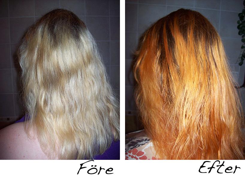 färga håret naturligt med kaffe